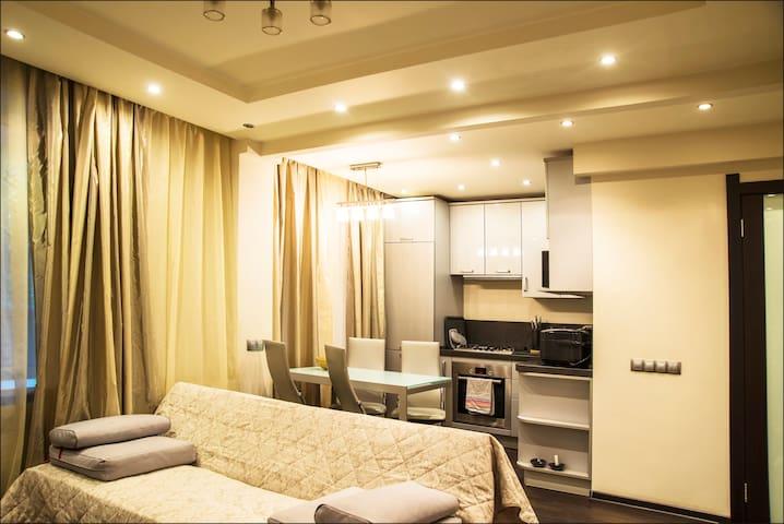 BUSINESS CLASS EUROSTUDIO + 1 BEDROOM near VDNH