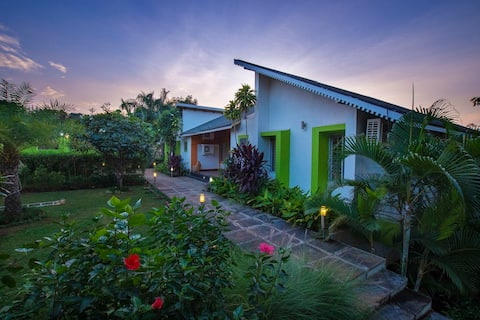3BHK Villa with private pool