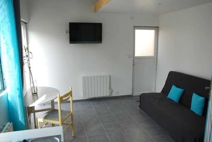 New studio of 17m2 in Berck sur mer