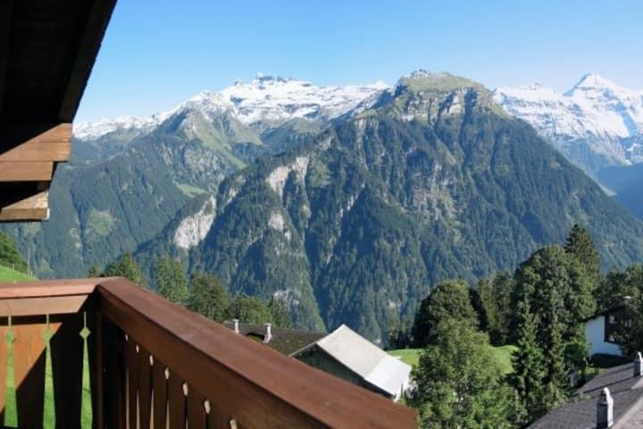 Gemütliche 3.5-Zimmer Ferienwohnung in Braunwald