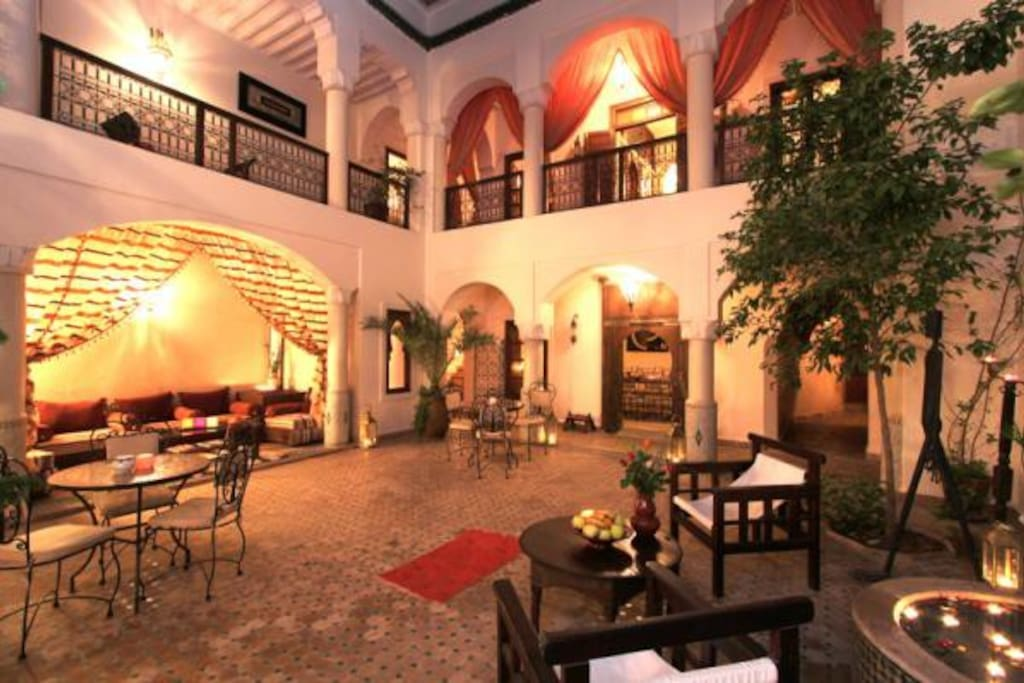 Riad cannelle chambres d 39 h tes louer marrakech for Chambre d hotes marrakech