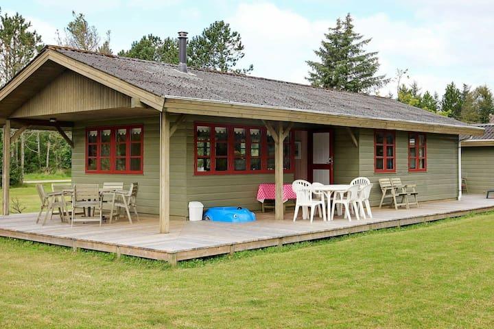 Casa vacanze moderna a Jerup con terrazza