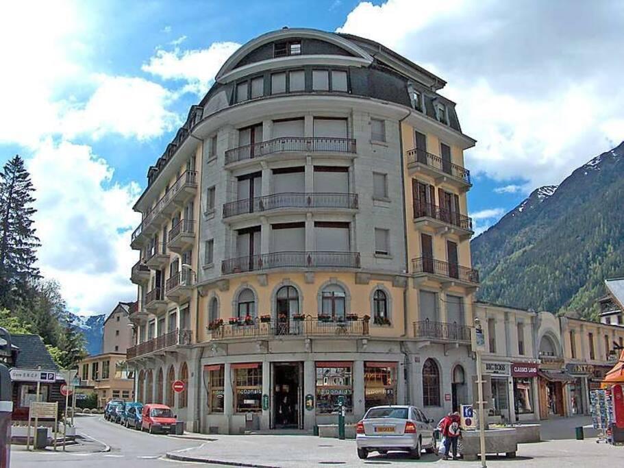 Résidence Le Carlton au centre de Chamonix