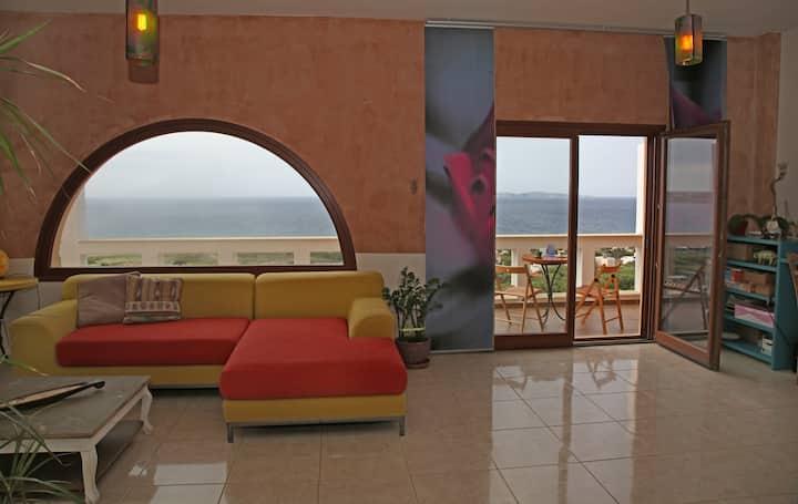 * Sitia  total panoramic house*