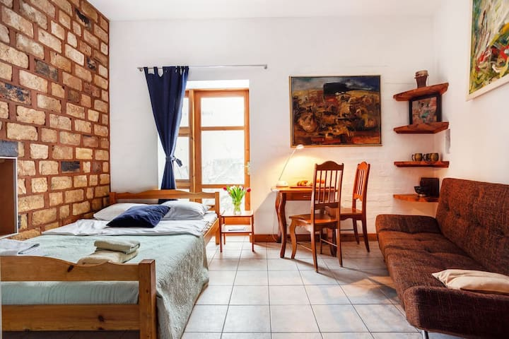 Rooms in the Green Zone of Vilnius Old Town