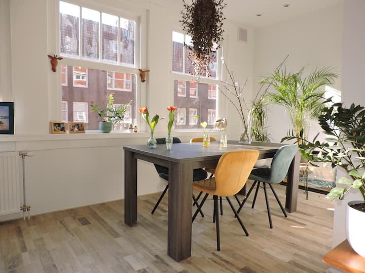 Sunny apartment in Amsterdam West district