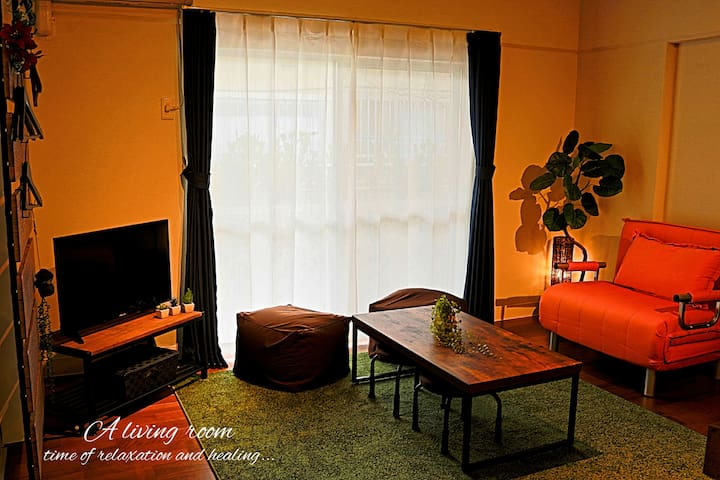 25-minute Naha airport total 10 guests stay
