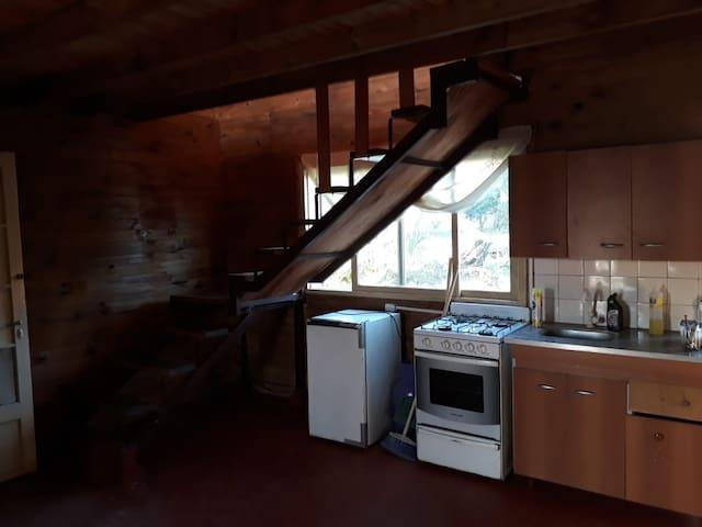 Casa Alpina para cuatro personas en Villa Gesell
