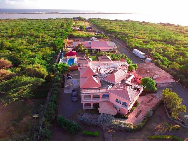 River Beach Mountain Casa Lagoona Hotel St Thomas