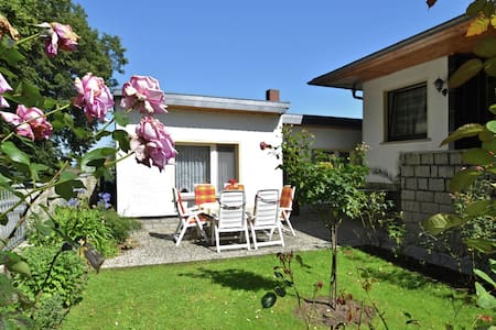 Bungalow with private terrace situated in a cul-de-sac in the beautiful Harz
