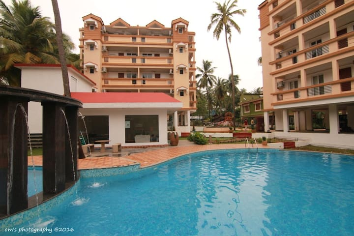 GoaFiesta-Spacious#Furnished near Baga&Club Cubana
