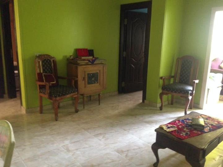 2 bedrooms apartment, in front of Cairo University
