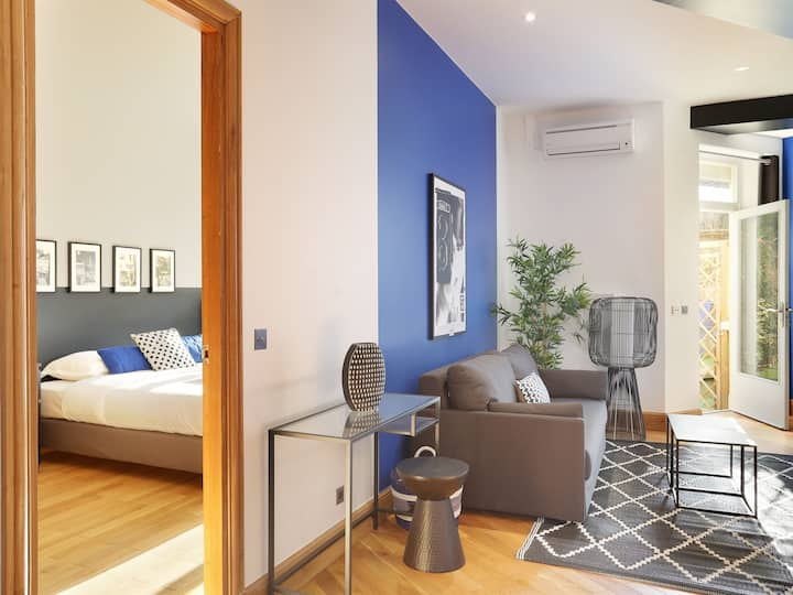 Appartement avec jardin proche de Roland Garros