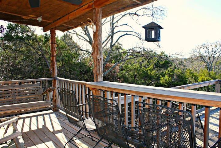 Peace Cabin- Your Relaxing Canyon Lake Getaway! - Canyon Lake - Kisház