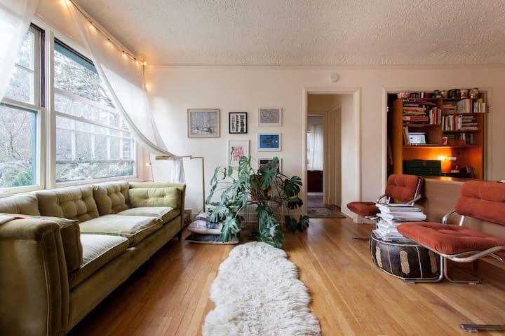 Overlooking Laurelhurst Park - Portland - Apartamento