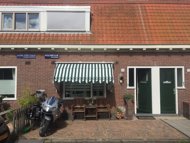 Cosy family house in Amsterdam North near 'het IJ'