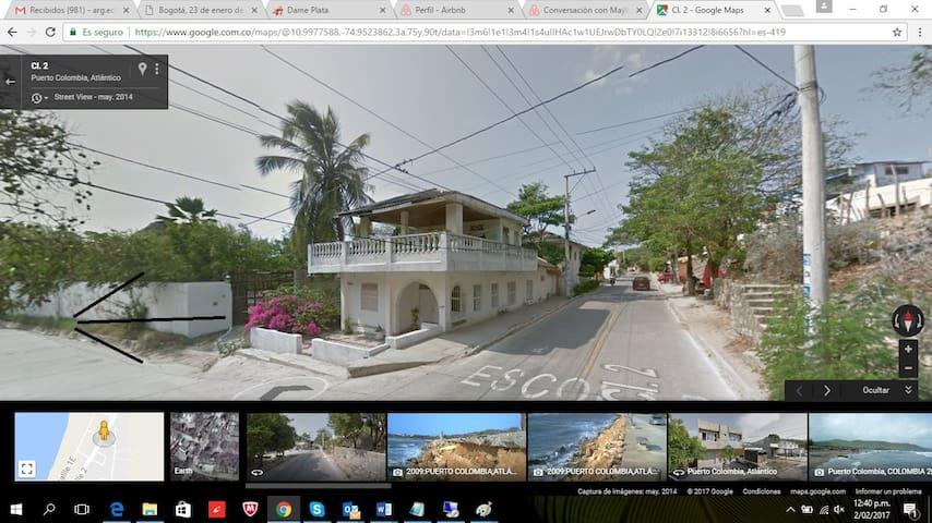 Casa Monar Hostal - Puerto Colombia - Huis