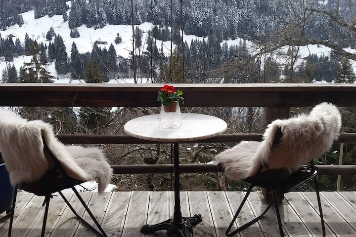 """Gstaad - """"Paradise View"""" Chalet"""