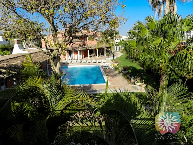 Vila Pariso on the Natural Park and close to beach