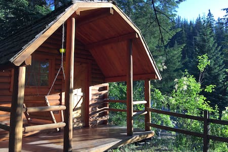 """Your Own Private Idaho"" Cabin! :) - Coeur d'Alene"