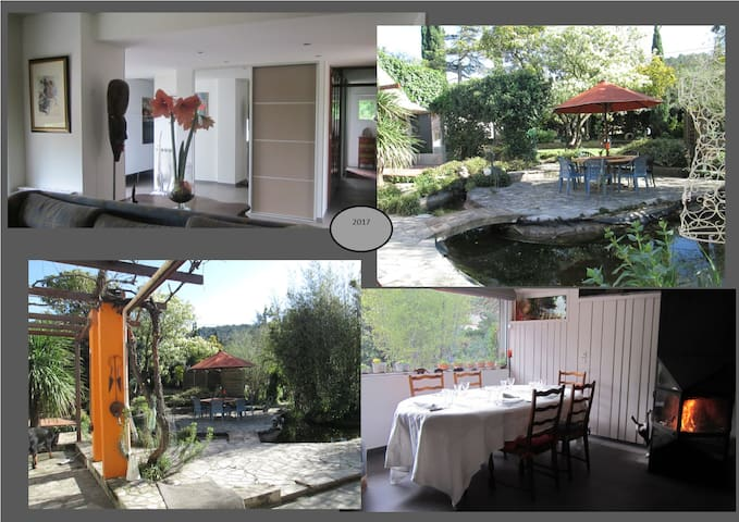 Gelijkvloerse woning met ruime tuin - Saint-Dionisy - Casa