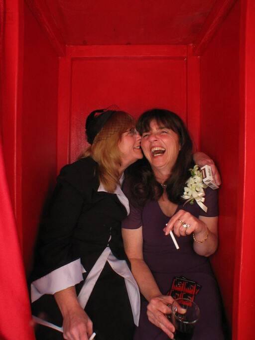 Kathy and Joyce