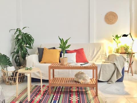 Pintoresco apartamento en el centro