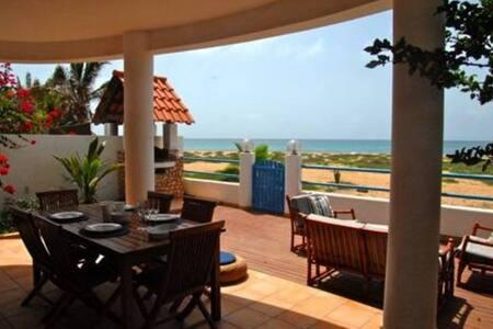 Unique Villa on Santa Maria beach