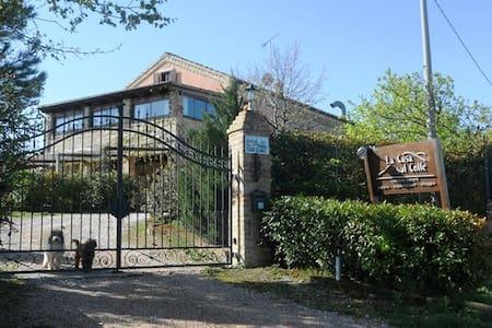 B&B Casa sul Colle-Rm 3: Pomegrante - Monterubbiano