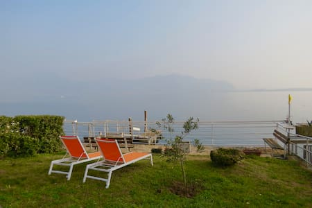 NEW Stunning Apt in Villa directly on the Lake - Predore - Apartment