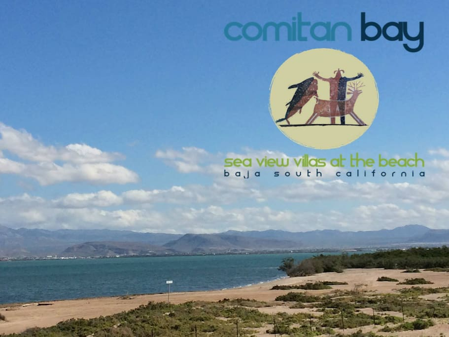 COMITAN BAY Sea View Villas at the Beach - La Paz, Baja California Sur, MEXICO