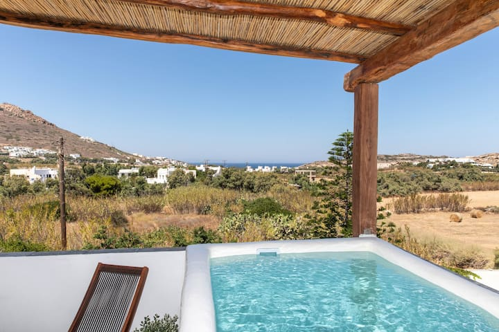 Luxury Maisonette - private plunge pool