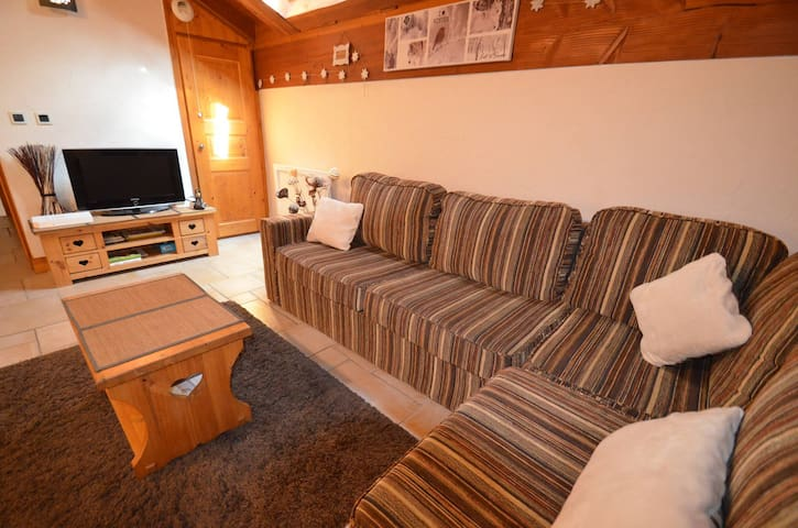 Authentic renovated chalet in St Martin de Belleville