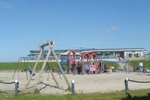 Spielplatz in Harlesiel am Strand