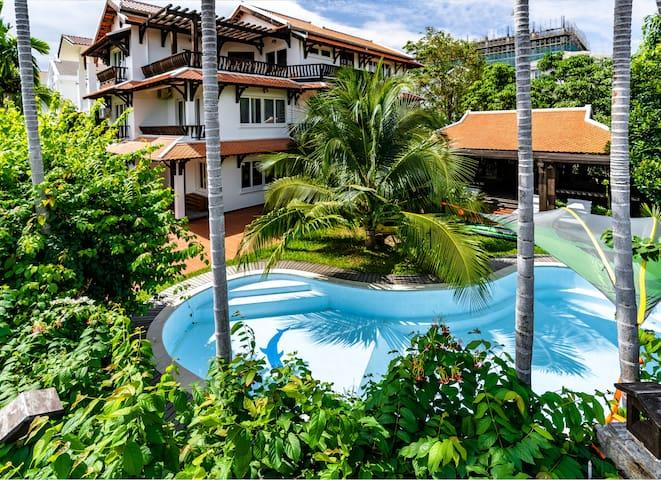 ❤️ Ngói casa - Beachfront villa with private pool