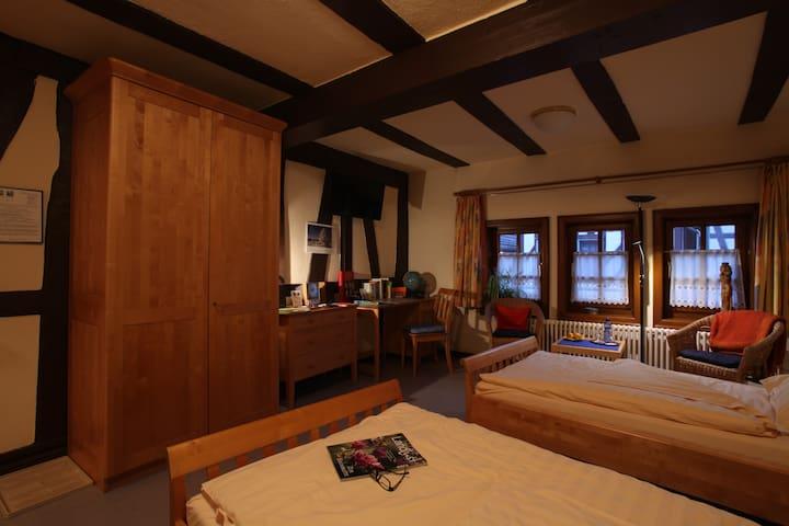 Hochzeitshaus Zimmer 3 - Schotten - Bed & Breakfast