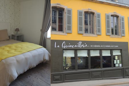 Ensuite room in a lovely old townhouse (ch.3) - Audierne - ที่พักพร้อมอาหารเช้า