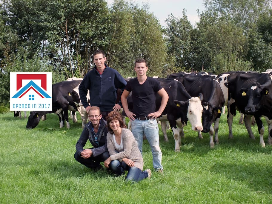 With our cows
