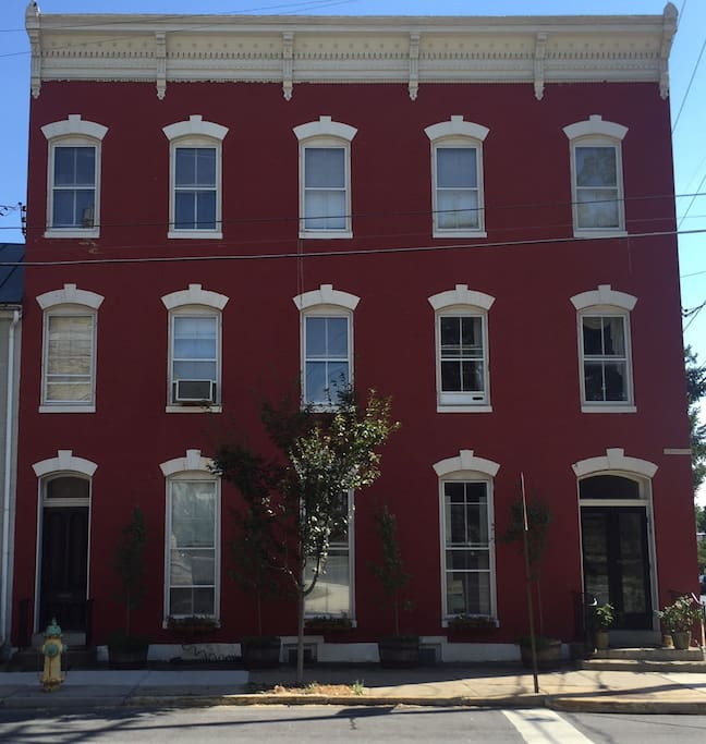 Downtown Frederick Apartment In 1870 39 S Home Apartments