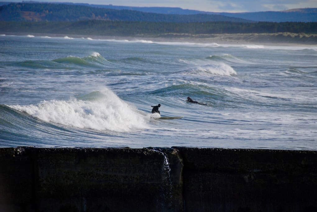 Surf's up.. East beach