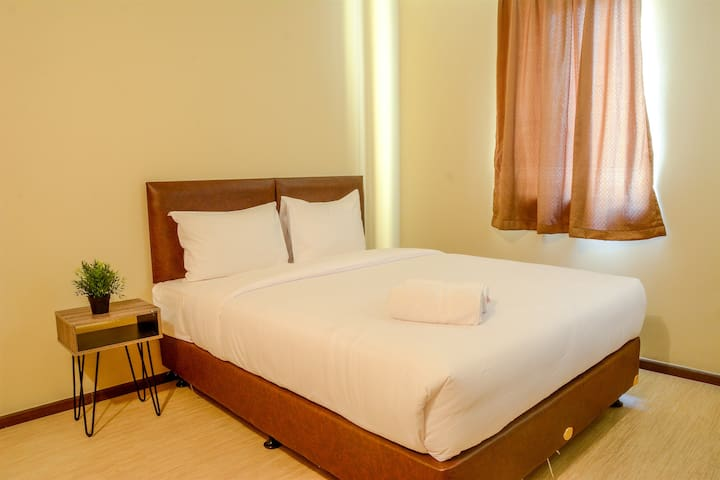Relaxing 3BR Grand Palace Kemayoran Apartment
