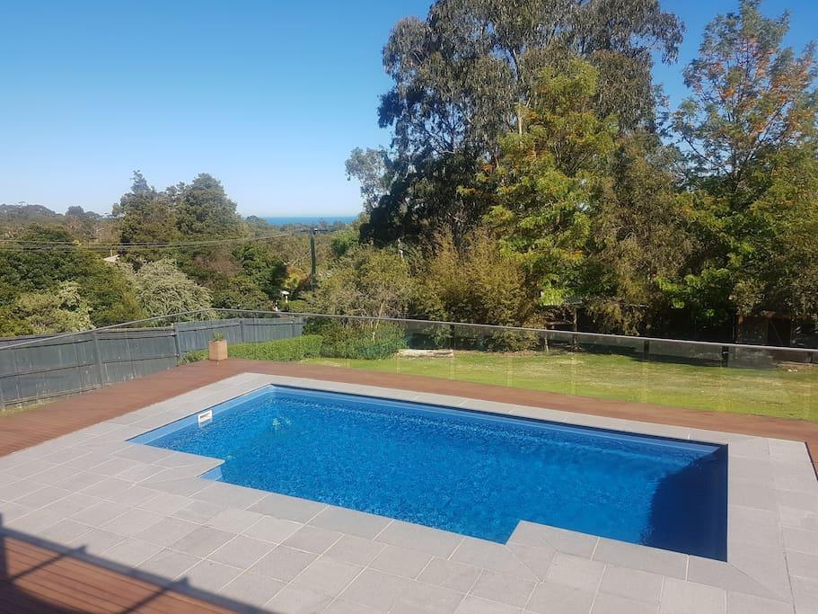 Beautiful resort style pool