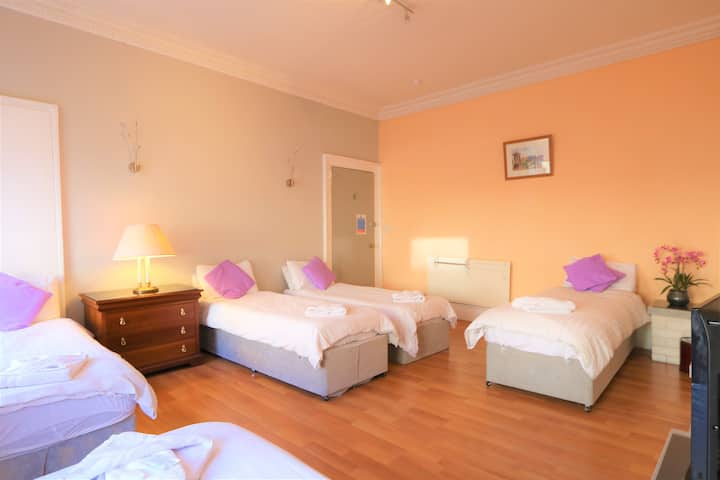 Spacious Family Room in City Centre Guest House