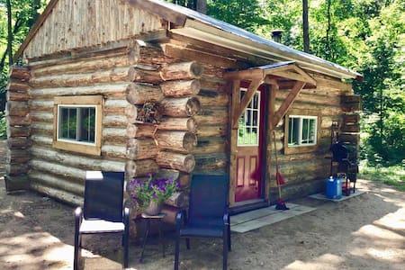Sugarbush Log Cabin Off-Grid Serenity