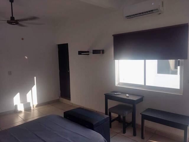 Suites tipo hotel con A/C