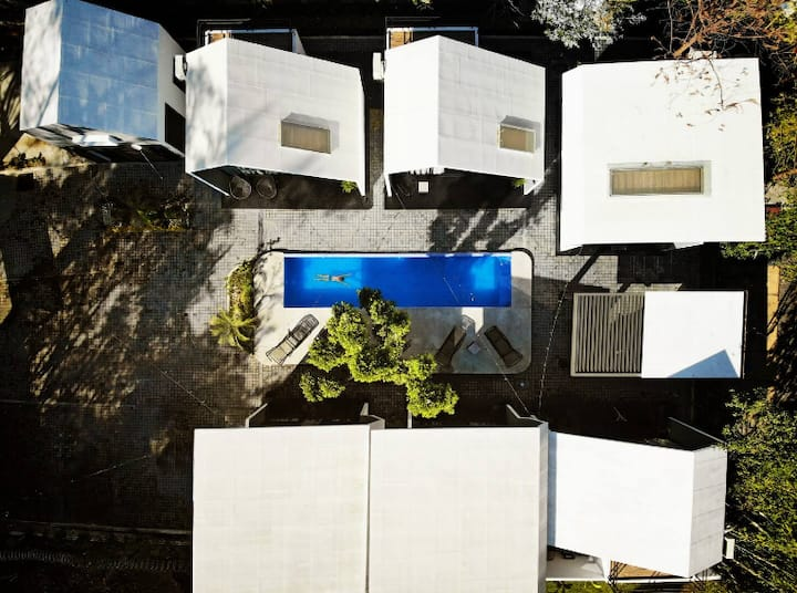 Cabaña #3 · Casa Samadhi - Villa #3 Santih para cuatro.