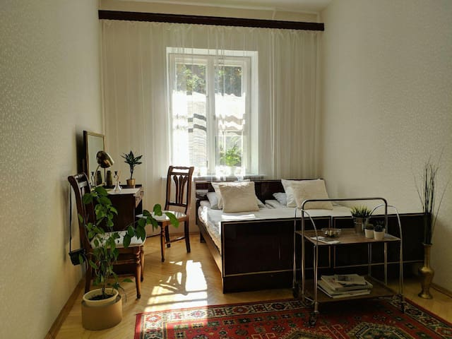 Просторная светлая комната на Фонтанке