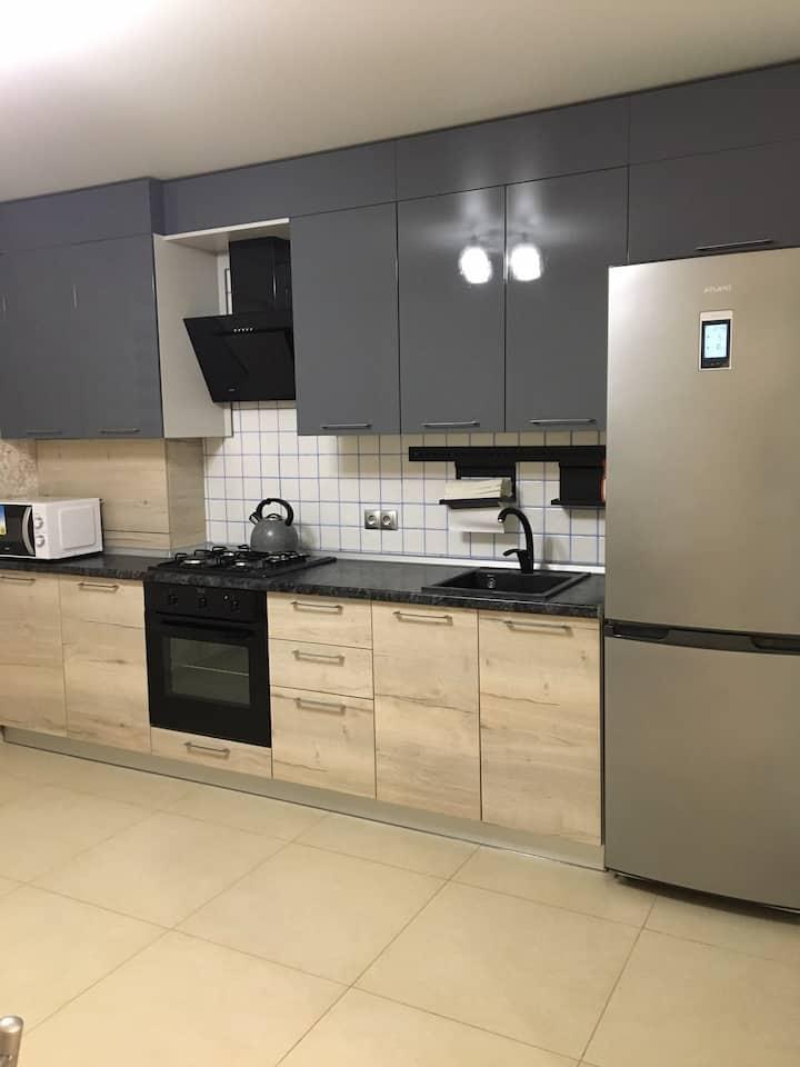 Квартира в новом районе