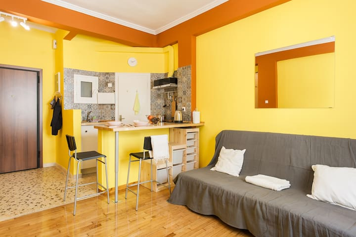 Tangy apartment in the heart of Athens
