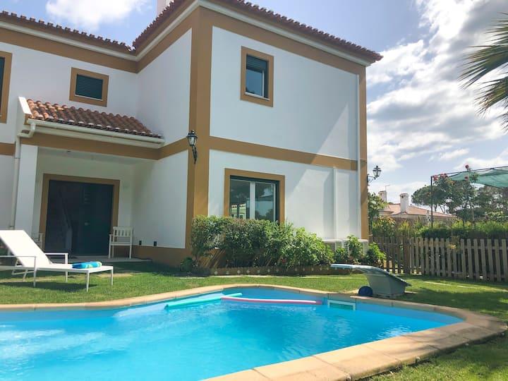 LV Premier Meco/Albufeira LA1- pool, AC, garden